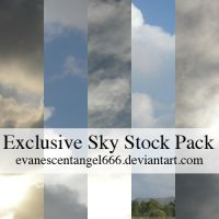Exclusive Sky Stock Pack by EvanescentAngel666