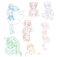 November Sketchdump 2012 by Miss-Mae