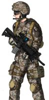 Multicam Rifleman by ND-2500