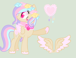 Mlp My New Oc pastel swirl (remake) by MlpSugarPonies