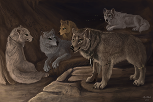 Through breathing of history by FlashW