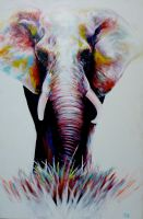 Elephant by ArtbyjoelK