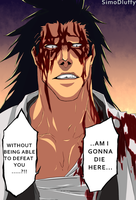 Need for power Zaraki Kenpachi Bleach 524 by SimoDLuffy