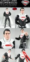 Custom Justice Lords Man of Steel Superman Figure by MintConditionStudios