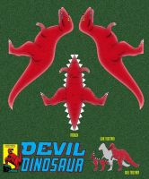 Devil Dinosaur Model by mikedaws