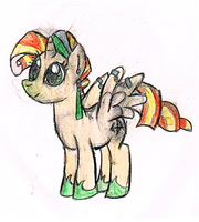 first ever pony drawing = epic failure by twood5