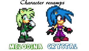 Character revamps 2 by supersilver27