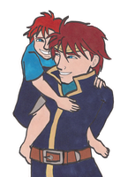 Contest Prize: Eliwood and Roy for LadyJunina by TheUnsungTrouvere