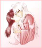 Kagome and Inuyasha by neffinesse