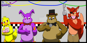 Have Fun at Freddy's! by Dobie-Takahama