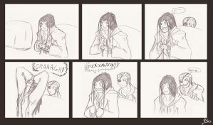 Comic-The Xaldin Struggle by Biigurutwin