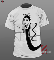 t-shirt design5. by sinnet1