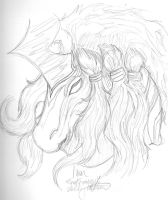 Ixion - SKetch by BetrayedAnguish