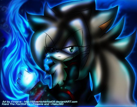 Blue flames... by SilverAlchemist09
