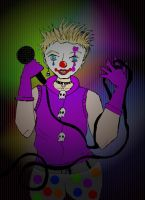 Dexter Holland The Offspring Lead Clown by SkeletonPrincess