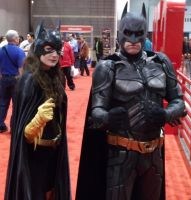 Batwoman and Val Kilmer? @ C2E2 2012 by MonkeySquadOne