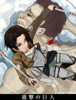 Attack on Titan by color-sekai