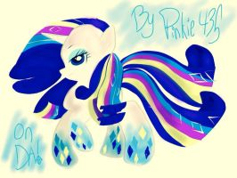 PoWer rainbow RARTY gorgeous!!! by Pinkieshy435