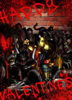 Happy Valentines Zombie Killer Partner by chitototoy