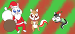 Christmas Rodents by Bokeol