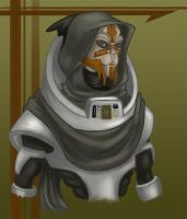 Turian Robin Hood by DarkspearDevil