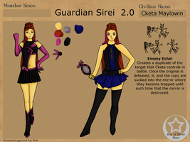 Bay of Silver Stars: Cketa, Guardian Sirei 2.0 by Keriuri
