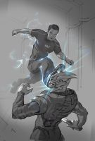 Biotic kick by AndrewRyanArt