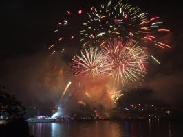 Fleet Review Fireworks 9 by BrendanR85