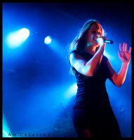 Simone Simons. Live Norway 6 by AmCreationss