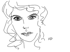 Pencil Tool in GIMP by kwikdraw