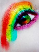 I Love Rainbows by RooCouture