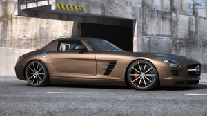 Mercedes SLS AMG by RJamp