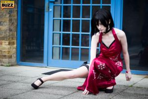 Ada Wong - Resident Evil by Paper-Cube