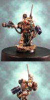 Death Guard Marshal Durak Rask by HomeOfCadaver