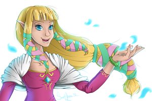 Zelda - Skyward Sword by SweetLhuna