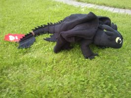 Big Toothless Plush final version 2 by BuffnutButthead