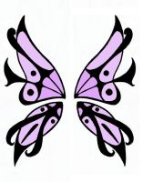 Butterfly Wings Design by kili