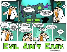 """Evil Ain't Easy"" page 1 by SethWolfshorndl"