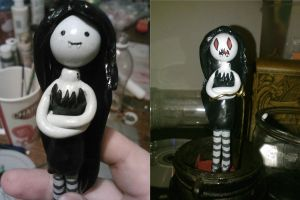 Marceline the Vampire Queen (with reversible face) by ShadyDarkGirl