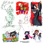 Sketchdump 12282012 by MarionetteDolly