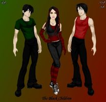 The Black Family by Alexs1sis