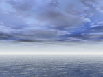 Blue Seascape by Anya-Stock