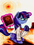 Comission - MLP. Twilight Preacher by jamescorck