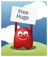 Free Hugs Campaign by pincel3d