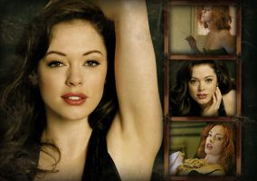 Rose McGowan Wallpaper by imaginarymagdalena