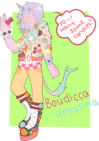 Boudicca Ursulina: Unicorn Contest by orchidi