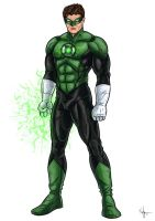 -Green Lantern- by Kaufee