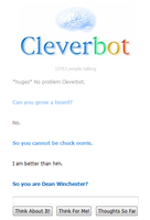 CleverBot Wins by CaelumJustitia