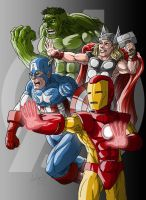 Avengers Old by Muenchgesang