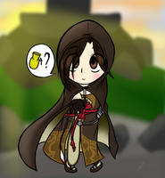 The Emerald Herald (chibi) by FullMetalPikmin